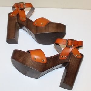 Mossimo heels Open Toe Women 8.5